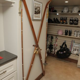 Mid-century modern renovation - Ski closet - La Crosse, WI